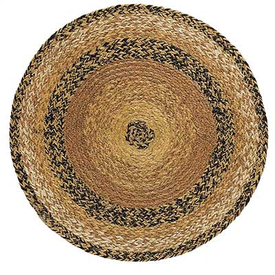 Kettle Grove Braided Tablemat / Round Placemat