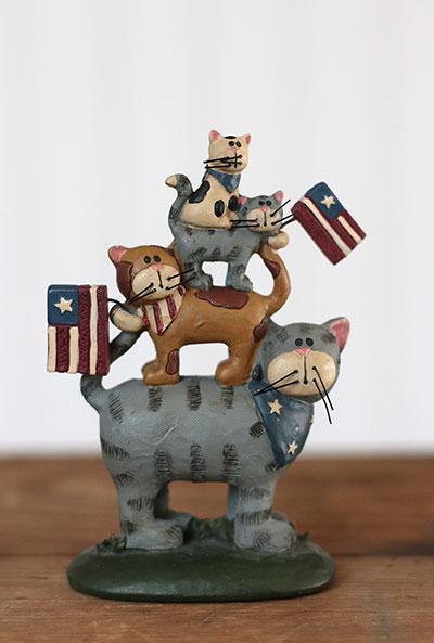 Americana Cat Stack