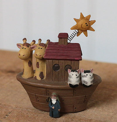 Small Noah and Ark