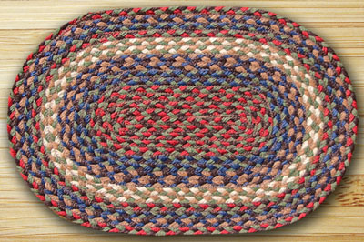 Burgundy Amp Grey Jute Placemat By Capitol Earth Rugs The