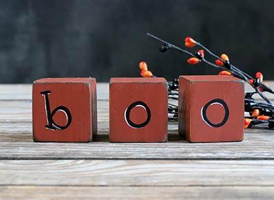 Primitive Boo Blocks
