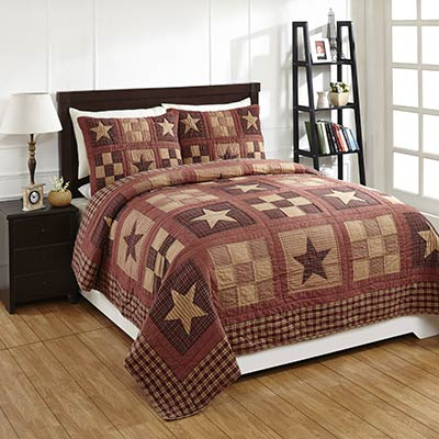 Bradford Star Queen Quilt Set