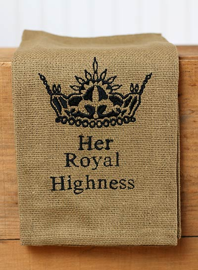 Her Royal Highness Dishtowel