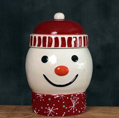 Snowman Candy/Treat Jar