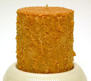 Carrot Cake Cake Candle