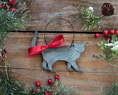 Custom Cat Ornament (Personalized)