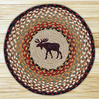 Moose Braided Jute Chair Pad