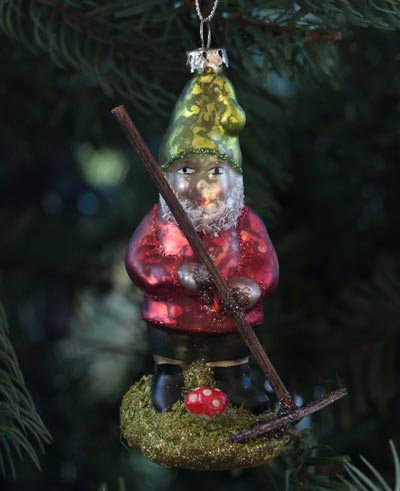 Forest Frolic Gnome Ornament