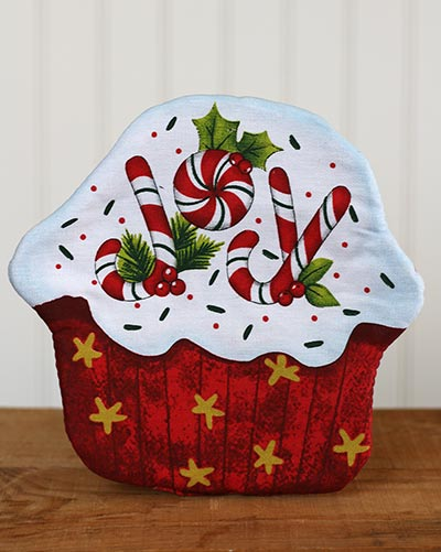 Holiday Cupcake Pot Holder