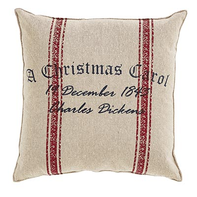 A Christmas Carol Date Pillow