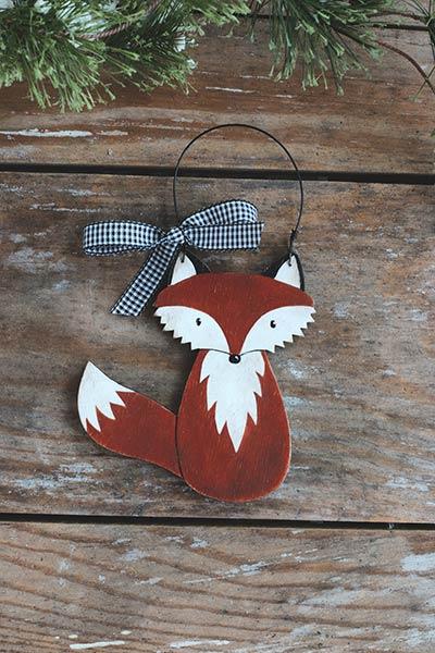 Fox Personalized Ornament