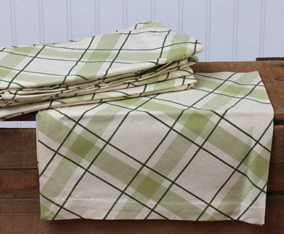 Roosevelt Plaid Napkin