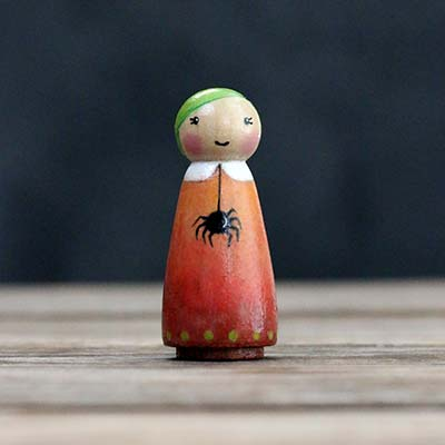 Belinda Boo Doll with Spider