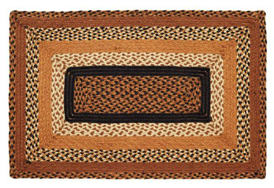 Harvest Time Jute Rug - Rectangle (Multiple Size Options)