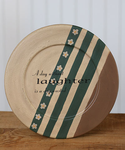 Laughter Plate