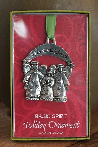 Joy to the World with Angels Ornament