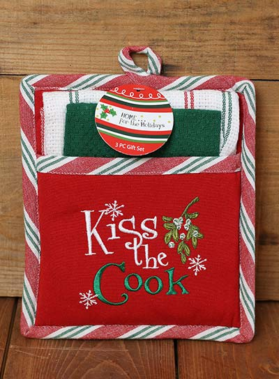Kiss the Cook Gift Set