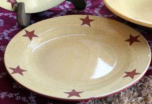 Redware Dessert Plate