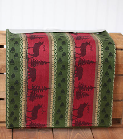 Great Outdoors Jacquard Table Runner