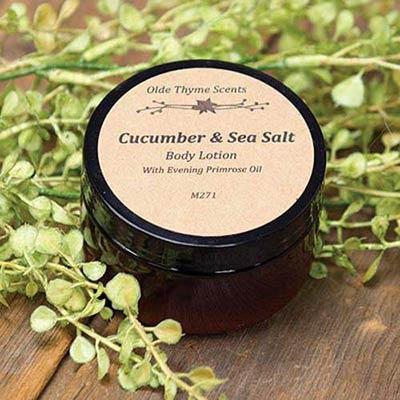 Sea Salt & Cucumber Body Lotion