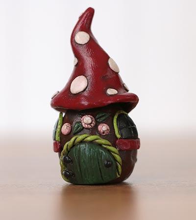 Toadstool Fairy House Miniature
