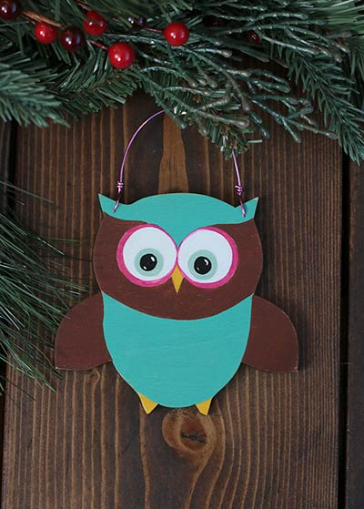 Owl Personalized Ornament