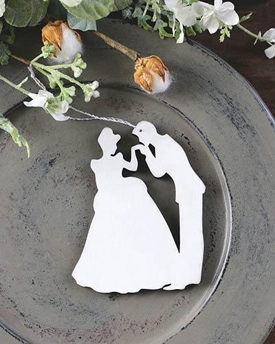 Bride & Groom Personalized Ornament