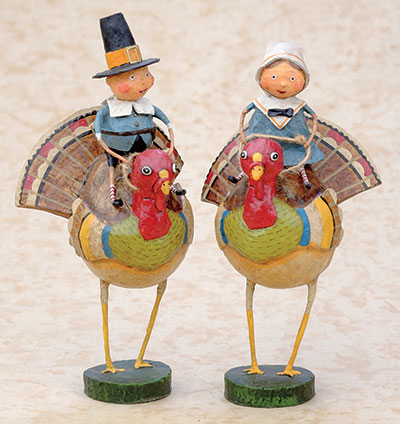 Tom and Goodie Gobbler (Set of 2)