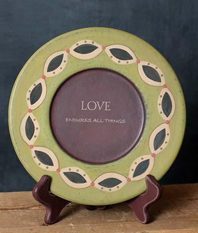 Love Endures Plate