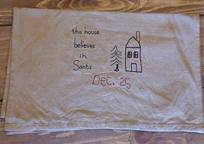 This House Believes in Santa Runner