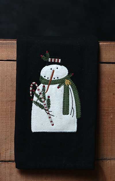 Mr. Winterberry Towel