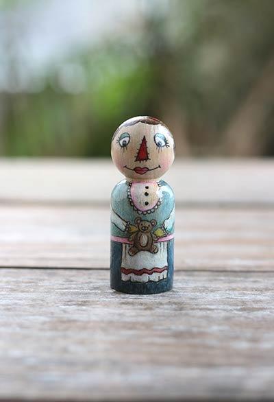 Raggedy Granny Art Doll