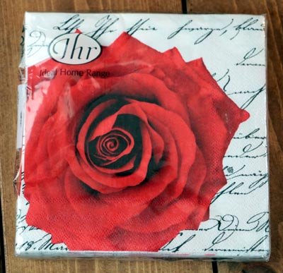 In Love Paper Luncheon Napkins