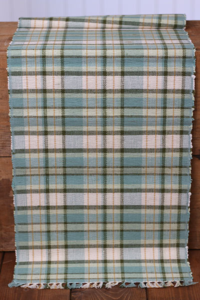 Robin's Egg Table Runner - 54 inch