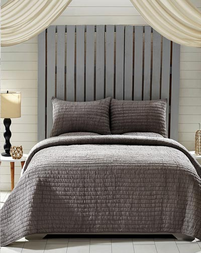 rochelle grey quilt set multiple size options