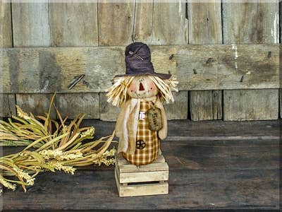 Sammy Salvage Scarecrow