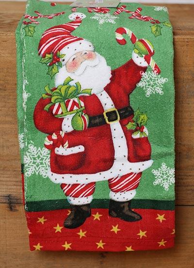 Ho Ho Ho Santa Terry Towel