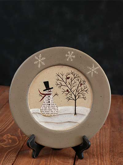 Snow Friends Jubilee Plate