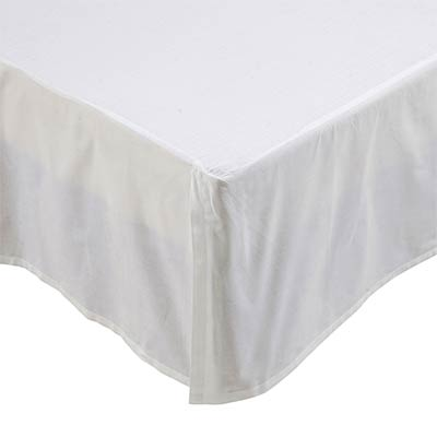 Rochelle Creme Bed Skirts (Multiple Size Options)