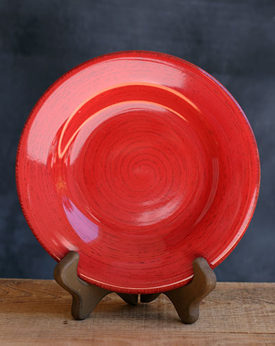 Sonoma Red Salad Plate