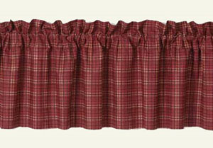 Star Patch Curtain Valance