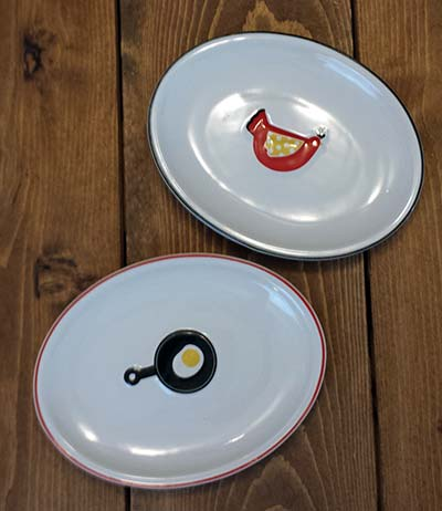 Betty's Kitchen Snack Plates (Set of 2)