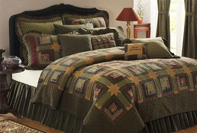 Tea Cabin Quilt - Luxury King