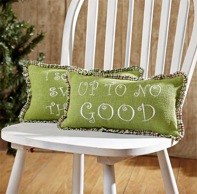 Whimsical Christmas Pillows (Set of 2)