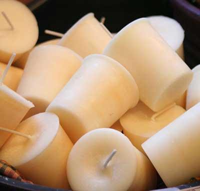 Vanilla Soy Votive Candle