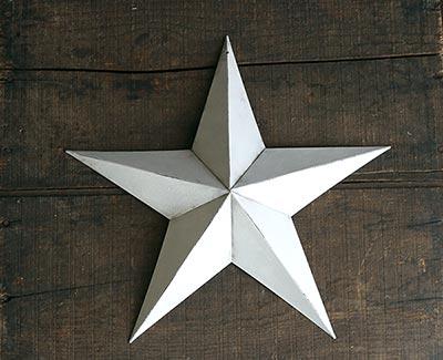 White Barn Star (Multiple Size Options)