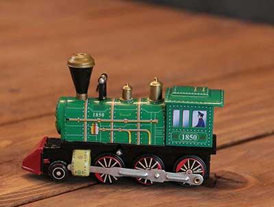 Wind Up Locomotive
