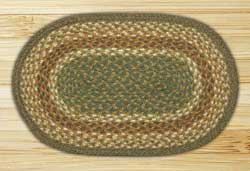Mustard & Ivory Braided Tablemat