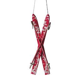 Crossed Skiis Ornament