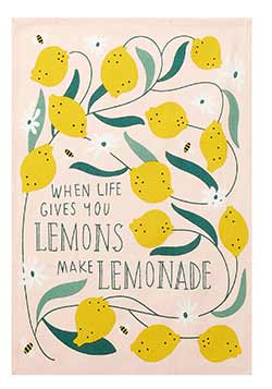 Lemons Printed Kitchen Towel